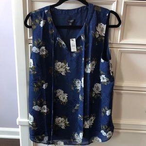 Talbots sleeveless blouse NWT